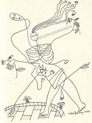 Federico Garcia Lorca Drawing--Death.jpg